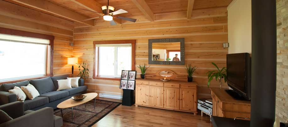 Affordable Log Homes, Cottages and Cabins from Vancouver BC Canada